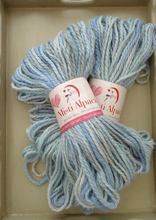 misti alpacas chunky handpainted yarn | by littlecottonrabbits