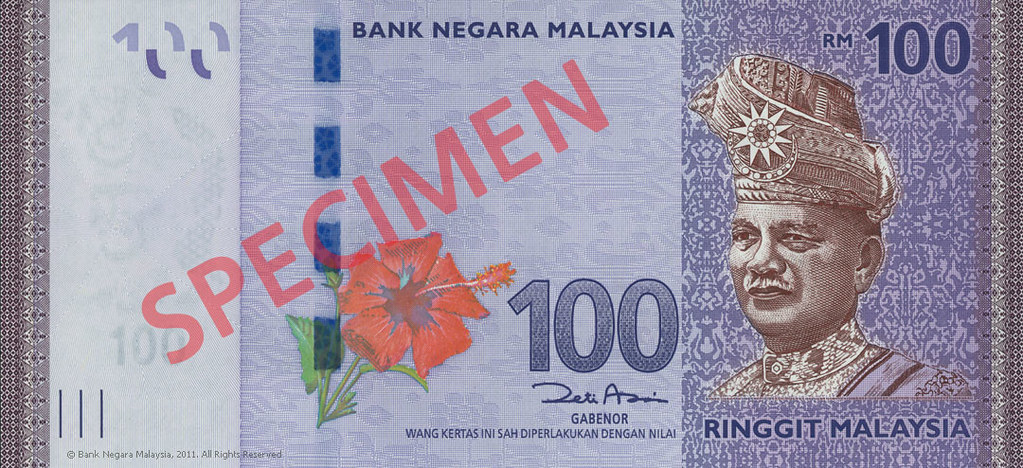 Front-RM100 | Distinctively Malaysia: The New Series of Mala… | Flickr