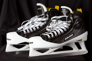 Bauer One100 Goalie Skates | by Teuobk