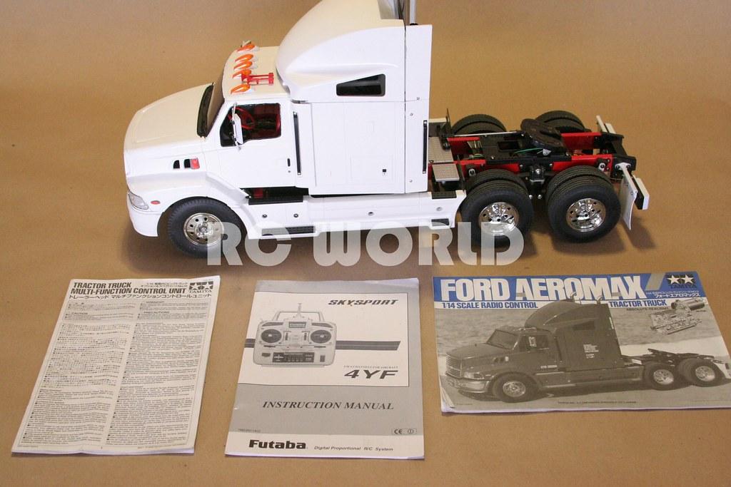 Tamiya Truck Aeromax Ford Modellbau Funktions- & Standmodellbau ...