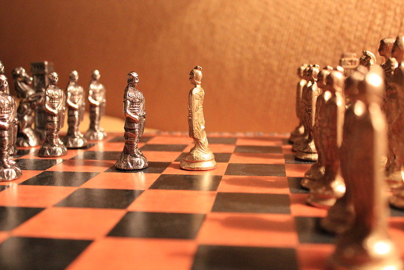 Meeting of the Pawns