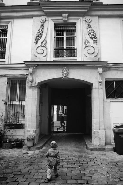 le 62 rue des Archives (côté cour) - Paris