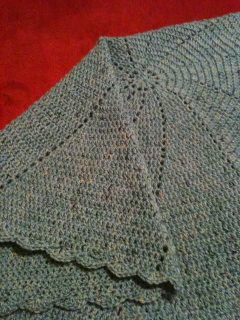 Round Baby Blanket 2
