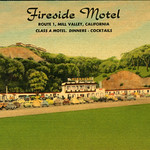 Postcard of Fireside Motel, Mill Valley, California