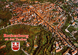 Rothenburg from Air (Postcard)