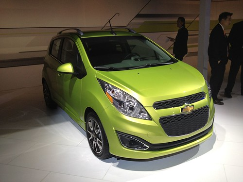 2013 Chevrolet Spark - Live from the 2012 Detroit Auto Show -  Jan 10, 1:12:50 PM Photo
