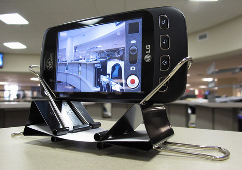 DIY Cell Phone Camera Stand | by dkfotog