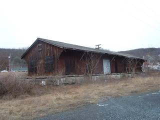 Thomaston Railroad Station, Heckscherville Valley