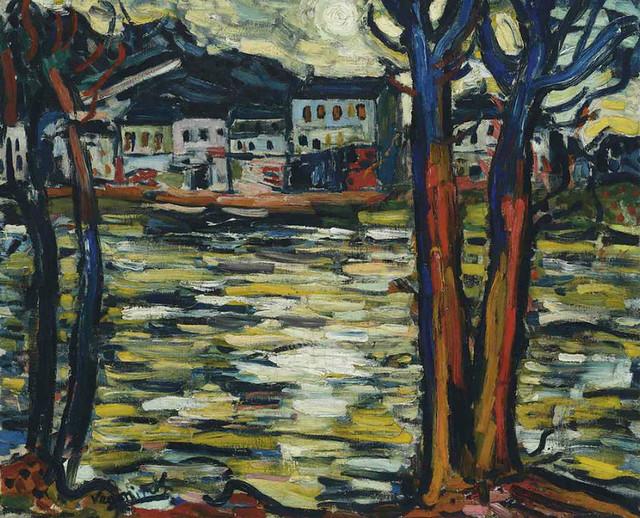 [ M ] Maurice de Vlaminck - Bords de la Seine (1906)