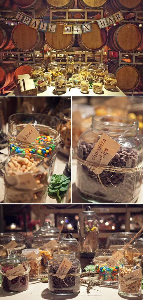 Wedding Ideas A Diy Favor Trail Mix Bar Posted Via Email