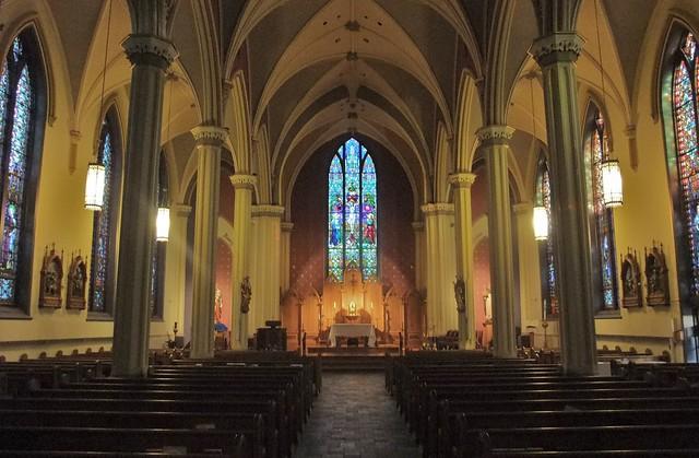 St. Thomas Aquinas Catholic Church, Zanesville, OH