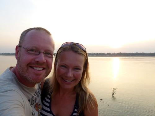 Kratie - Mekong sunset