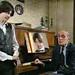 Dva moja najveća i najbliža saradnika pri stvaranju Instruktivne klarinetske literature. Prof. Vlastimir Peričić, kompozitor i sin Željko Lazić, klarinetista, 1995. godine.