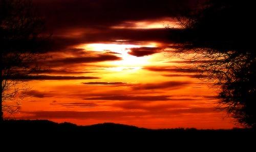sunset england cheltenham 3pm cloudsstormssunsetsandsunrises 241111