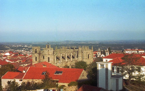 panorama holiday portugal church cathedral outdoor centro guarda