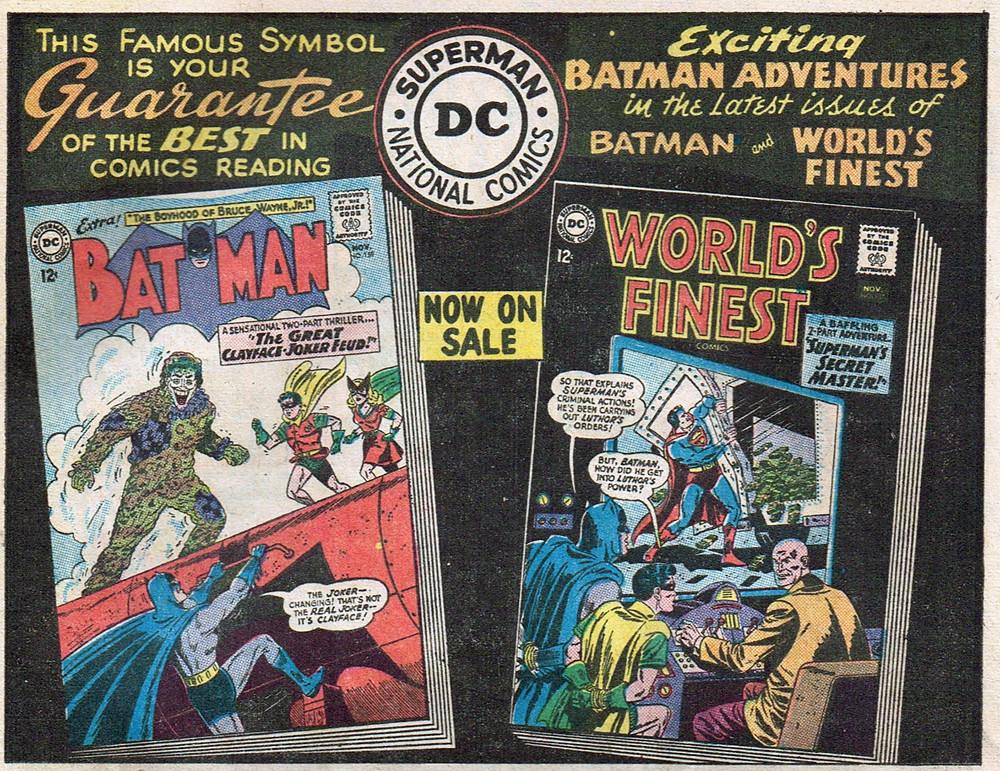 Vintage Ad #1,758: The Guarantee of the Best in Batman | Flickr