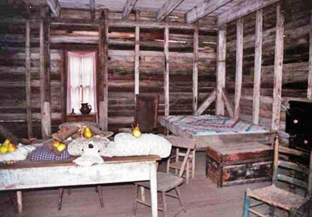 Solomon Graves Slave Cabin Interior | Stone Mountain Park (G… | Flickr