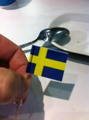 Badalona | Ikea | Bandera sueca