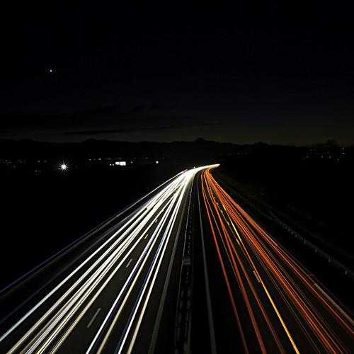 A64 & Pic du Midi   by Matthieu Luna