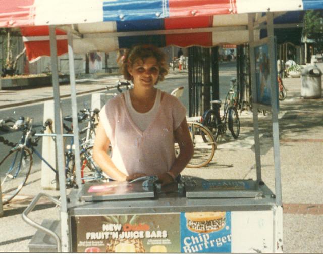 Ice Cream Girl #1, 1986