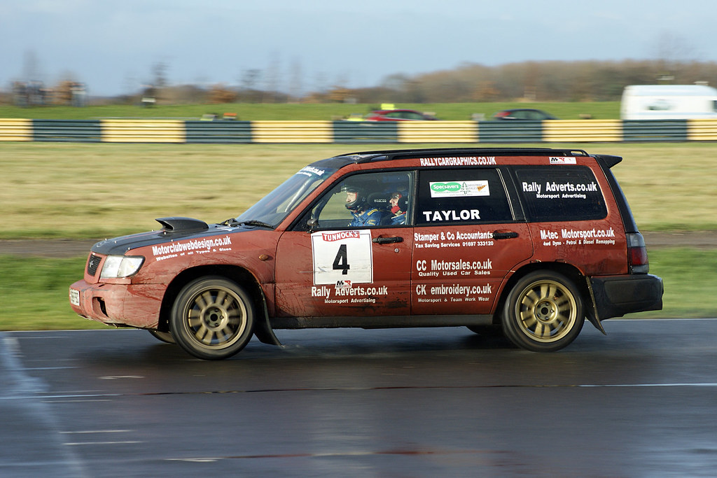 4 Subaru Forester Alex Taylor Christmas Stages Rally 2012