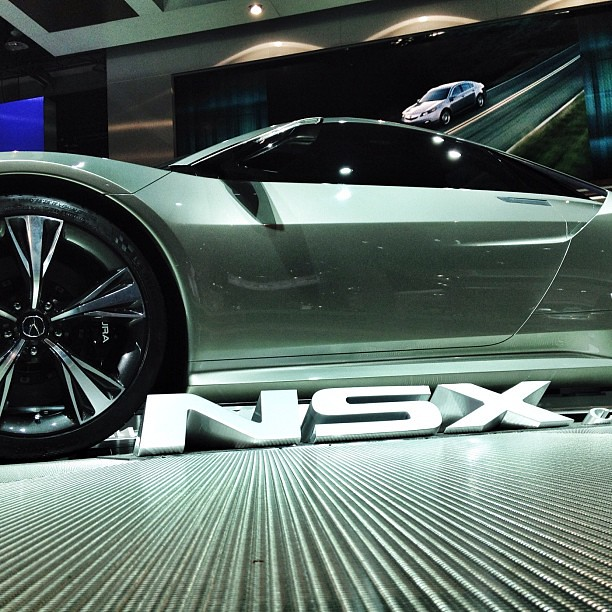 Acura Debuted The New NSX At The