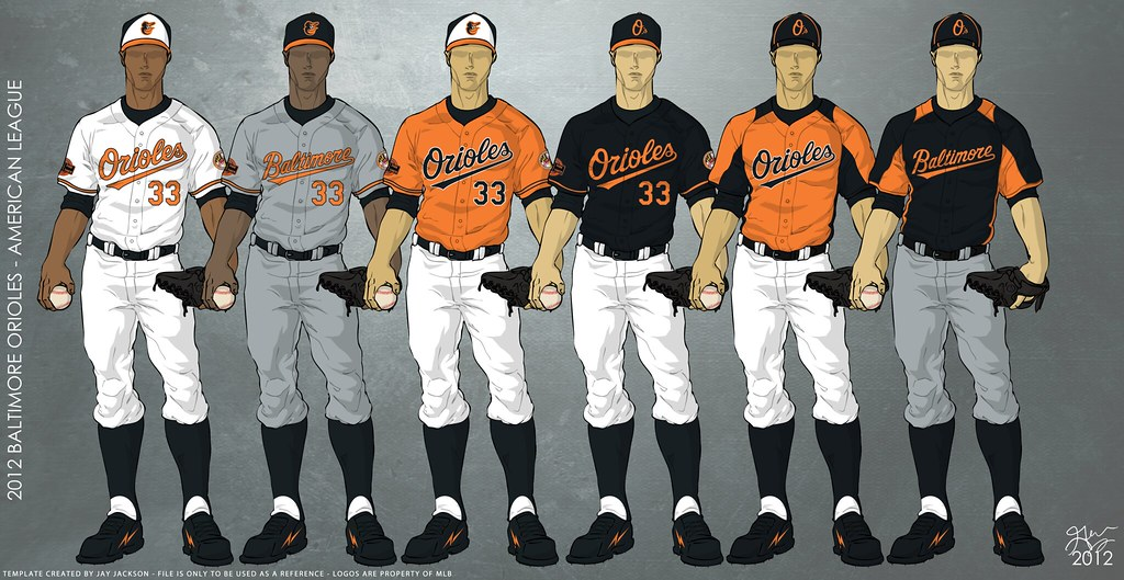 eac426dd9db ... Baltimore Orioles 2012 Uniforms