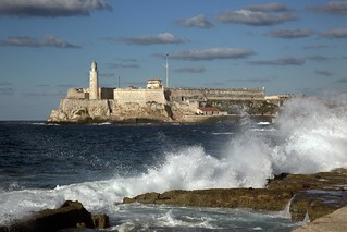 No Known Restrictions: Morro Castle is a fortress guarding the entrance to Havana bay in Havana, Cuba (Highsmith/LOC) | by pingnews.com