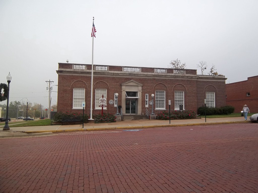 1925 Post Office, Gilmer, Texas | Now a museum, located on t