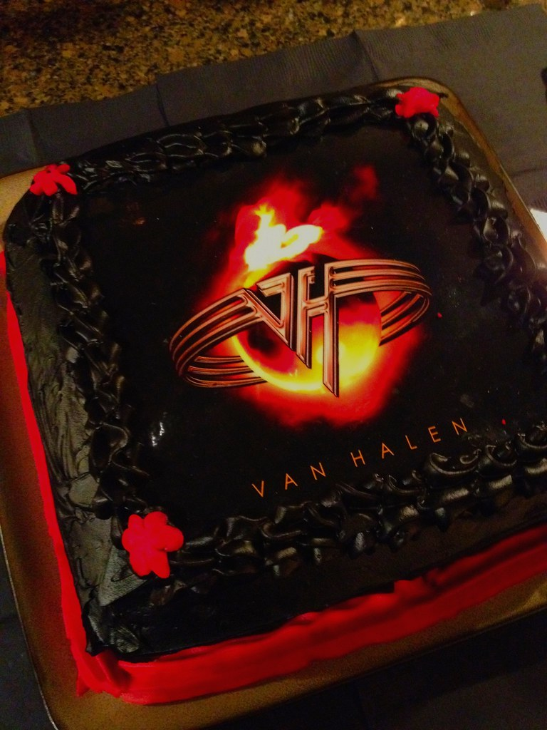 Fabulous Van Halen Cake Bowling Green Ky Iholga Jan 2012 Chris Williams Personalised Birthday Cards Epsylily Jamesorg