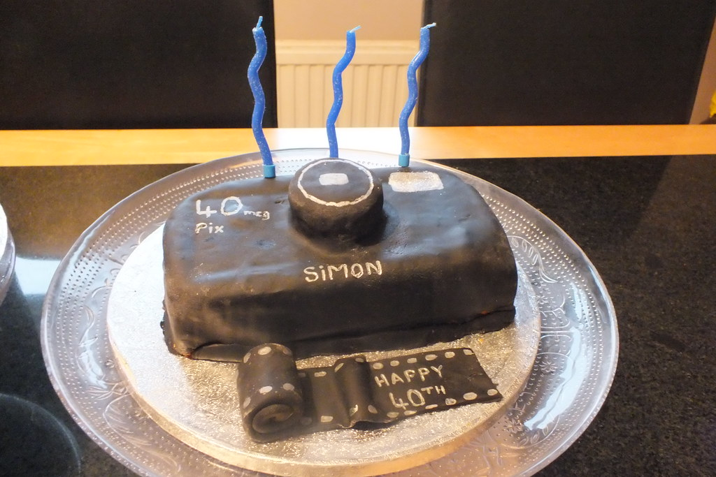 Incredible Simons 40Th Birthday Camera Cake Happy Birthday Cull7 Flickr Funny Birthday Cards Online Barepcheapnameinfo