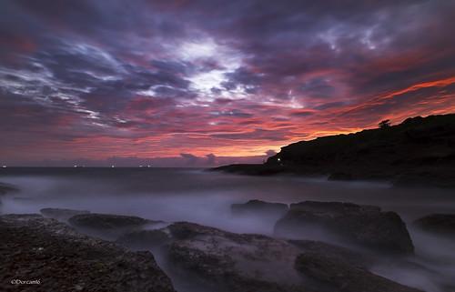 water sunrise bay pier rocks hill catherine coal loader sigma1020 nd8 canon7d blinkagain dorcam16