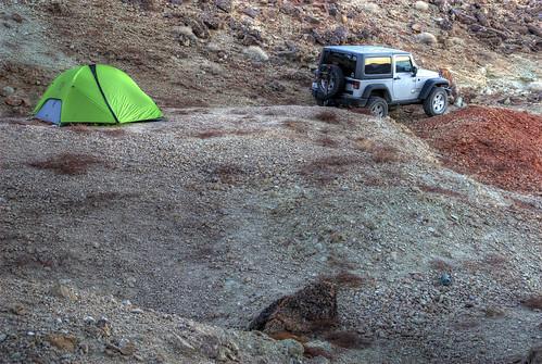 california county usa mountains sunrise geotagged nikon san desert jeep offroad 4x4 jim tent calico d200 w9jim hdr jk campsite bernardino wrangler