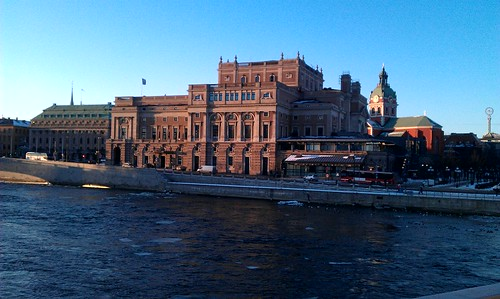 wellComing - winter in Stockholm, opera huose | by wellComing