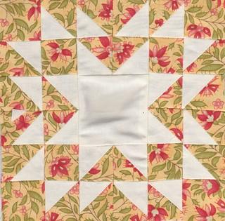 Farmer's wife sampler quilt – blocks 83 to 87