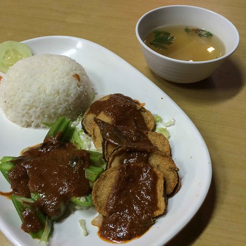 vegetarian_villas_sambal_fish_rice | by littlegreenwok