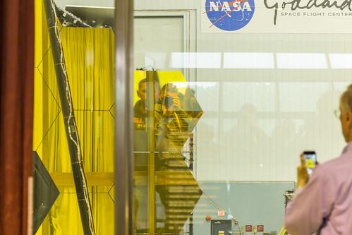 Space Telescope Selfie