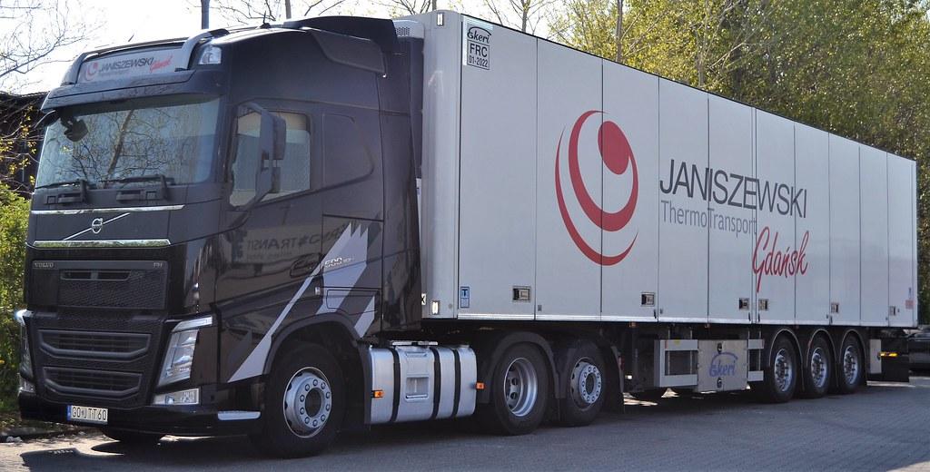 Cudowna Volvo FH500 - Janiszewski Thermo Transport Gdańsk - PL GO … | Flickr YI71