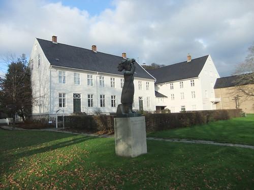 Andorsengården med Egil Skallagrimsson, Vest-Agder-museet Mandal