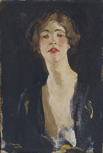 Lavery  ,  John  (Scottish,  1856-1941) -  Portrait of Violet Trefusis  -  1919