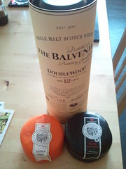 More pressies! Whisky and cheese!