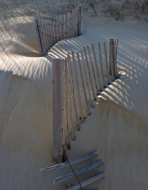 buried fences