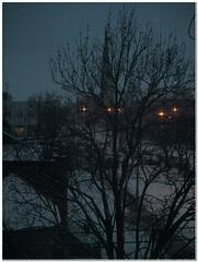 Snow comes to Grand Rapids Michigan