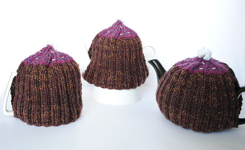 One Size Fits Most Cupcake Tea Cosy