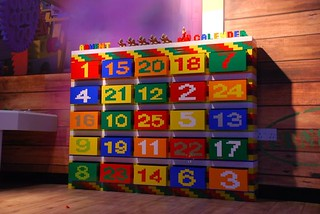 the lego advent calendar at legoland discovery centre in m. Black Bedroom Furniture Sets. Home Design Ideas
