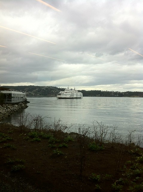 Queen of Alberni arrived at Departure Bay