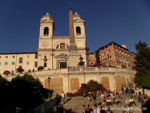 Spanish Steps (Piazza di Spagna) | by StefanoRomeTours