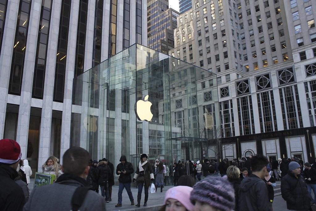 Resultado de imagen de apple store new york