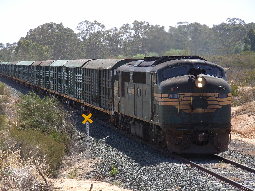 A81 heads 9084 as it slowly rolls through White Hills by bukk05