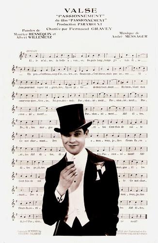 Fernand Gravey in Passionnément (1932)